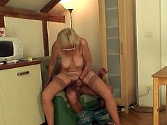 She appreciates blowing the whistle and playing her son-in-law's yonker