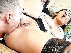 Jessica Bangkok with big knockers and Criss Strokes enjoy fuck session they will never forget