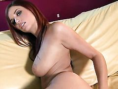 Jayden Cole gets the pleasure from pussy stroking like never before