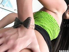 Senora Cassandra Nix with small tits gets a back yard stuffing
