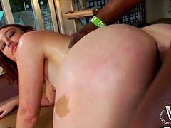 Well, if you wanna jizz at once this WCP Club sex clip is surely for you. Wondrous nympho with awesome mouth watering ass desires to be fucked doggy by black stud. She moans, but it's not enough for her satisfaction. Kinky pale bitch desires to get her anus polished also to reach multiple orgasm in a flash.