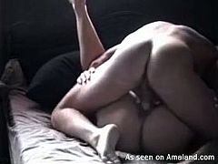 The GF Network sex clip provides you with amateur blond haired bitch. This pale slut with flossy ass desires to get her wet pussy polished properly. Missionary style suits perfectly for this fucking mission.