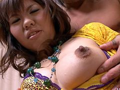 Ugly Japanese hoe Reina Sakai gets her soaking vagina fingered and tongue fucked
