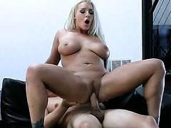 Blonde Sadie Swede with gigantic knockers cant wait to be ploughed by her hot fuck buddy