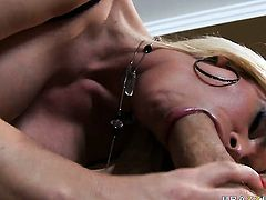 Jordan Ash has a nice time banging Diamond Foxxx with gigantic jugs in the asshole