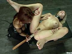 This movie is not for those who are weak. Watching the lesbian BDSM requires some steel nerves and you will understand why, as you watch this porn product!