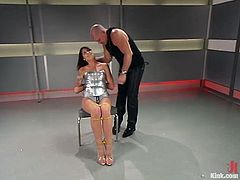 The sexy and kinky Lexi Bardot is going to get dominated in this bondage session packed with rough hardcore sex.