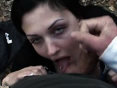 Aletta Ocean loves getting her mouth banged by hot guy