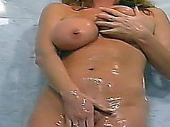 Tracey fucks under the Shower