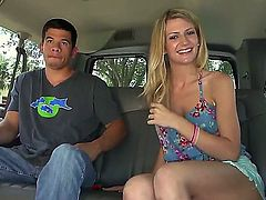 Bang bus action waits for you to watch it again! Now you should take a look at what dude does with Amanda Tate in the bus. She undresses before him first of all wishing sex.