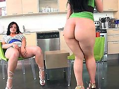 Ava Rose and her friend Luscious Lopez love to show their big asses on camera and they really do that pretty good. They are smoking hot babes with the amazing asses!