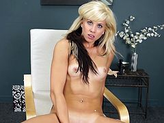 Take a look at this blonde teen's natural beauty and be amazed by her sexy body in this solo video as she spreads her sexy legs out and penetrates her sweet pussy with a dildo.