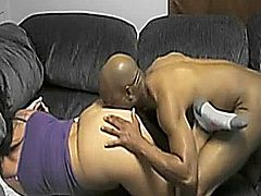 White Girl With Glasses Fucking Hard From Behind With Black Guy 1