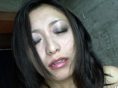Horn made Japanese slut rolls her eyes with pleasure while bunch of rapacious men give her pussy good times. They tease her beaver with mini vibrators through satin panties before they take normal-sized vibrators to keep pleasing her in pov sex scene by Jav HD.
