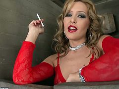 21 Sextury xxx clip has prepared a compilation of several hotties. Smoking blond, black and red heads in sexy stuff look surely gorgeous. Their red lips, sweet tits and nice asses are the cause of my boner.