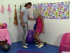 Blond dolly Sabrina is appealing girl that is able to water your mouth. This dude knows it the best. He can't help seducing teen chick for sex. Arousing My Sexy Kittens porn clip.