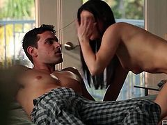 India Summer erotic blowjob in bed