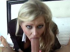 Nice screw with Darcy Tyler and Keiran Lee would turn you on! Sinful big boobed blonde milf stays in stockings before getting her luscious loving hole drilled so well.