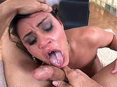 Amazing POV oral sex with luscious Charley Chase