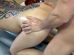 Tory Lane brought him upstairs and got him undressed and got laid - beeg
