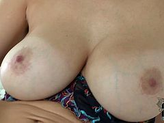 She is curvaceous blond mom with big jugs. She demonstrates her killer body taking teasing positions. Blonde mommy sucks knobby dildo imitating hot blowjob. She looks straight to the cam sucking the tool. Do you get the hint? Just join this babe in DDF Network sex clip.