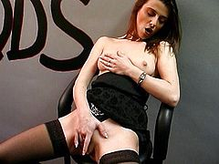 French chick fucked