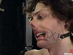 It's a really wild femdom foursome with Lorelei Lee and Mika Tan having fun playing with these two dudes, with pegging, torturing, spanking and ass toying.