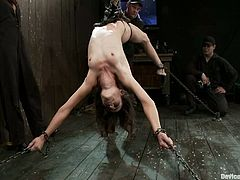There's some pretty hot strapon fucking action in this domination and bondage vid where Isis Love bangs Amber Rayne's pussy.