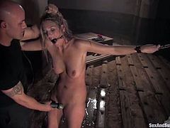 You will get to witness some insane bondage methods in this BDSM porn video. Jordan Kingsley is such a hot porn actress, who is good at any porn category, even BDSM!