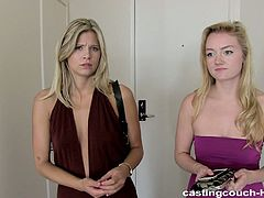 Net Video Girls sex clip provides you with too voracious blond haired amateur gals. Spoiled slim chicks with droopy boobs has a strong desire to show how hot they're in bed right on cam. So alike looking harlots get busy with sucking a black dick. Strong black stud polishes their wet cunts doggy then. And the hot culmination - both nymphos enjoy eating each other's wet juicy pussies on the couch.