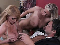 Devon Lee and Taylor Wane are the best babes in the game right now and both of them get fucked hard by Rocco Reed. He fucks them so hard and makes them fall in love with his rod.