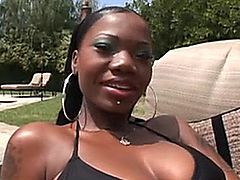 Hot Black Slut Killer Body Used BBC for her holes