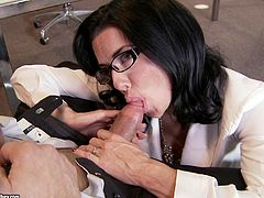 Time for office sex with the sluttiest, randiest, kinkiest and naughtiest boss you'll see: Veronica Avluv.