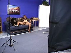 caught masturbating in the studio