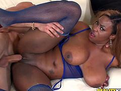 Tori Taylor the busty ebony chick gets nailed rough