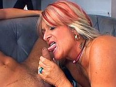 This bitch is the owner of big ass and droopy boobs. Whorish tanned mature slut gets her wet cunt and asshole fucked with dildos. Having a burst of energy spoiled booty whore bows above her BF's dick to give a solid blowjob for gooey sperm.
