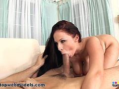 Busty pronstar enjoys deep pleasure