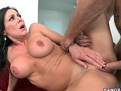 A couple of hot horny fucking bitches suck dick and get fucking nailed in this hot FFM threesome. Check it out right here!