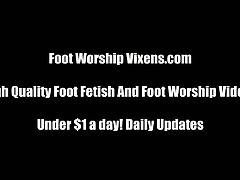 Foot worship vixens compilation