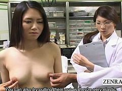 To further enhance the knowledge of the female body a Japanese medical school offers med students the opportunity to closely examine one in regards to sexual stimulation first via close proximity nipple play and medicinal breast massaging in an