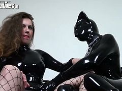 Ho tempered sexploitress Jana has real toy for sex pleasure. Latex kitty is ready to turn into reality all dirty dreams of her insatiable brunette mistress. Watch popular Fum movies for free.