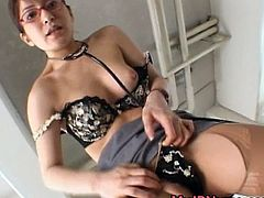 Ann Nanba Wondrous Asian nurse