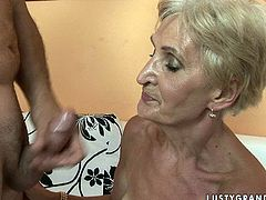 Sextractive blond grandma still has something to show us. She tops a horny dad wearing steamy lingerie for a ride in reverse cowgirl and cowgirl styles before she gets her beaver pounded missionary pin sizzling hot sex clip by 21 Sextury.