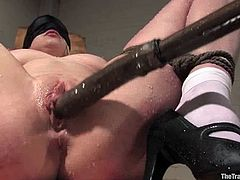 Superb Lorelei Lee gets toyed and face fucked in BDSM vid
