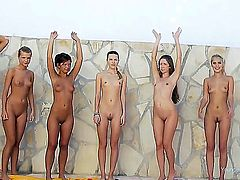 A lot of magnetic and so sweet-looking pretty slim hotties wait for you to spend cool time together now! Stare at these divas staying nude before showing all parts of theirs to us.