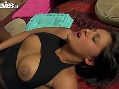 BBC drills one busty whore in missionary position. He penetrates deep her vag and enjoys her big bouncing jugs. Go for the hot interracial sex tube video.