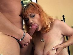 Check out this mature bitch as she brings her years of training as a whore to the screen in hit hardcore sex scene right here!