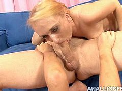 One appetizing blonde enjoys doggy style pounding and the tongue of her insatiable lesbian girlfriend. Watch frantic FFM threesome sex scene right now.