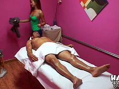 Reality Kings massage sex video is everything you need right now. Relax and watch slender oriental babe who massages and sucks like nobody else before.