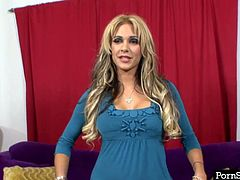 Carmel Moore is a girl of great charm and beauty! She has a heart-stopping face and a lovely set of big precious boobs. Do you like them? Imagine them bouncing as you pound her pussy! Her ass looks fine to me, too.
